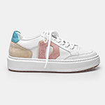 SNEAKER DIAMOND - White, Rosa, Off White & Turquesa